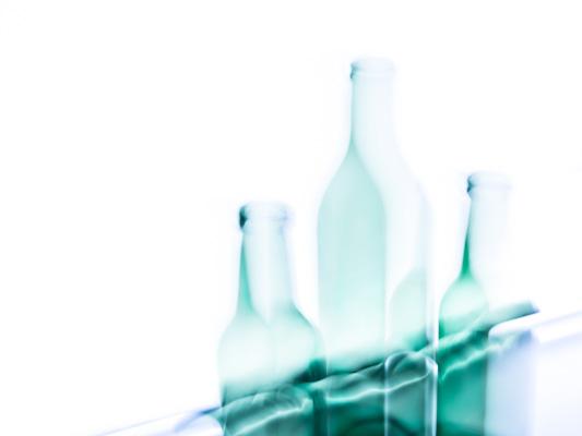 'Stilleven met 3 flessen'