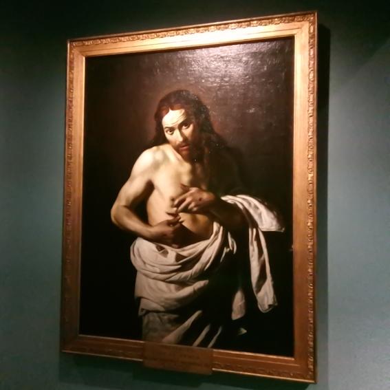 'Jezus toont zijn wonden', door Giacomo Galli (1597-1649), begin 17e eeuw